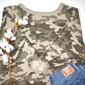 Universal Thread Camo Sweatshirt 100% cotton